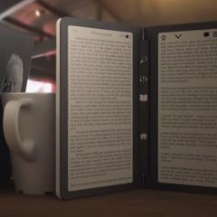 Dwustronicowy czytnik ebooków