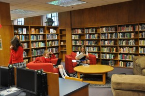 Annie Wright School library