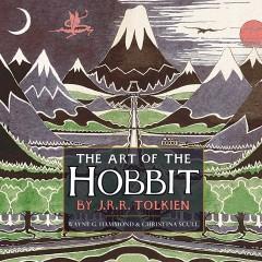 Oryginalna obwoluta Hobbita na wystawie