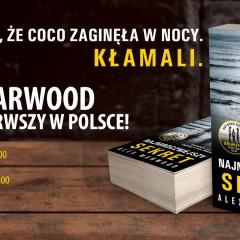 Alex Marwood po raz pierwszy w Polsce!